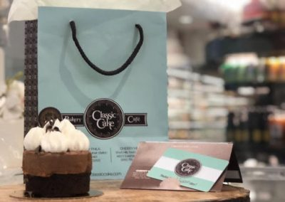 Classic Cake – Bags & Gift Card design